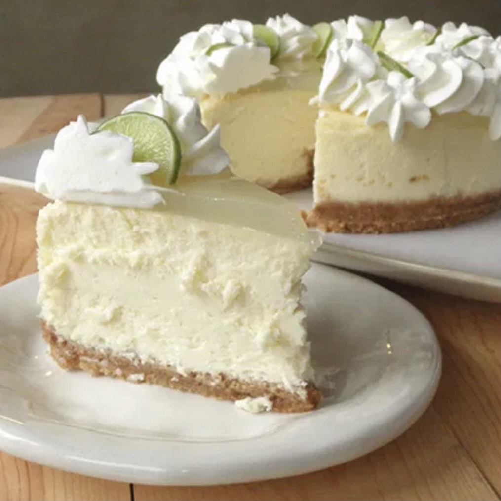 Nell's Key Lime Cheesecake