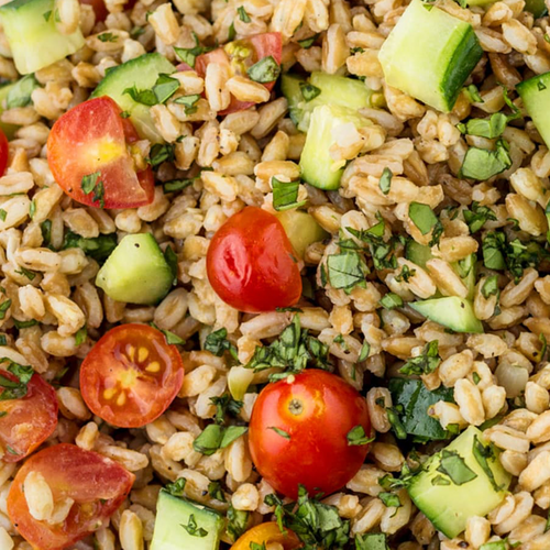 Carol's Farro Vegetable & Herbs Salad