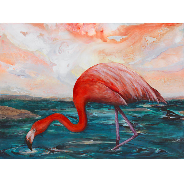Flamingo Canvas Giclée