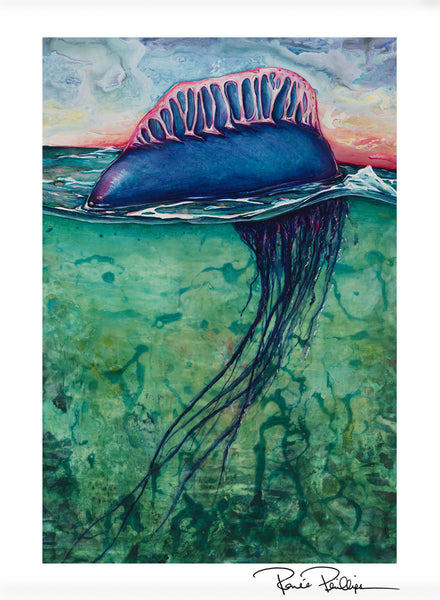 """Lost in the Hudson"", Man-of-War Art Print"