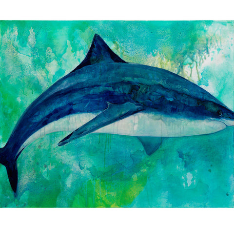 Tiger Shark Canvas Giclée