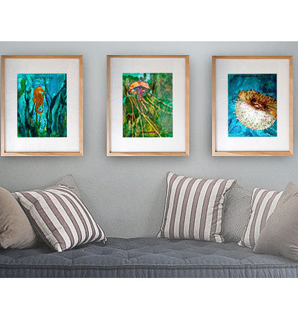 Framed Art Print Collection #1, 16x20