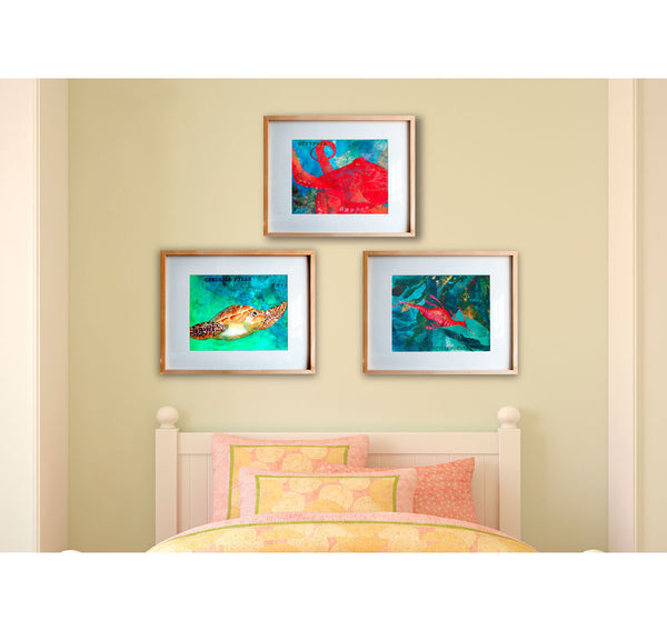Framed Art Print Collection #2, 16x20