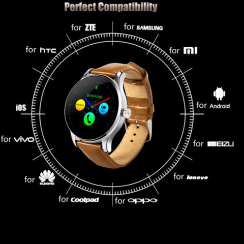 K88H-Bluetooth-Smart Watch-Heart-Rate-Monitor-Android-iOS-compatibility-icon-9