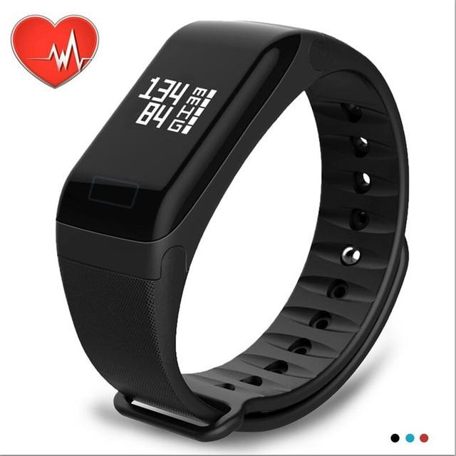NAIKU Fitness Tracker Wristband Heart Rate Monitor Smart Bracelet F1 Smartbracelet Blood Pressure With Pedometer Bracelet - My New Smart Watch