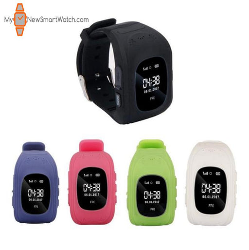 Kids GPS Smartwatch with Location Tracker Finder and Free Shipping - My New Smart Watch