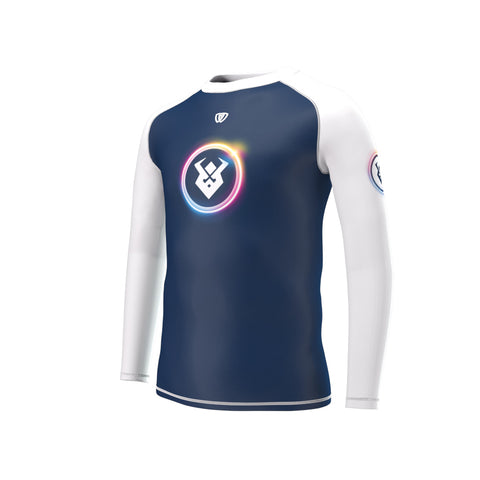 phalanx bjj kids rash guard for jiu jitsu and youth mma, perfect for no gi JJ kids class or gi jiujitsu kids class, short sleeve boys and girls rashguard, wear at Spartan Race, Tough Mudder, Yoga - all athletics!