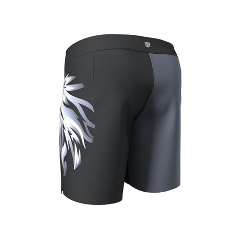 Phalanx jiu jitsu fight shorts for BJJ and MMA, perfect for No Gi Jiu Jitsu or Brazilian Jiu-Jitsu and Mixed Martial Arts - all grappling and wrestling plus surfing and yoga!