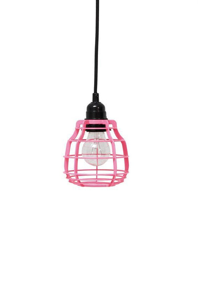 HK Living - Lab (Pink) - Lamp With Switch