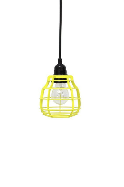 HK Living - Lab (Yellow) - Lamp With Switch