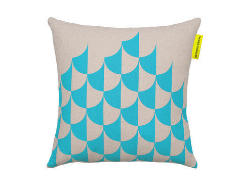 On The Sly - Jester (Aqua) - Cushion