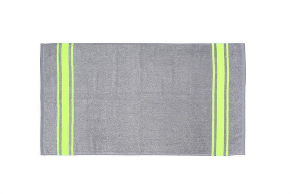 HK Living - Grey Yellow Neon - Bath Towel