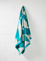 Aura - Duo  Bath Towel - Jade