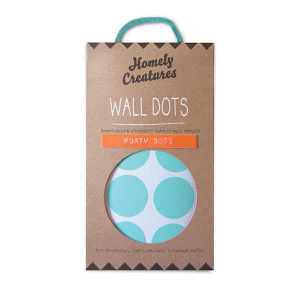 Removable Wall Decal Dots (Mint