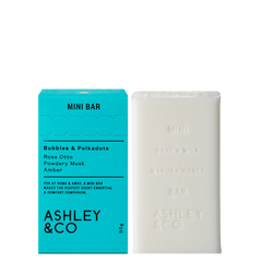 Ashley & Co - Mini Bar - Bubbles & Polkadots 90g