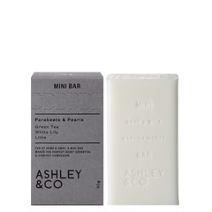 Ashley & Co - Mini Bar - Parakeets & Pearls 90g