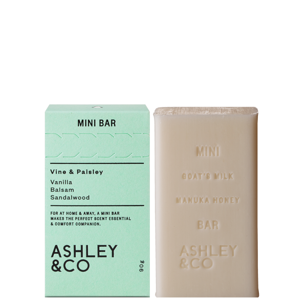 Ashley & Co - Mini Bar - Vine & Paisley 90g