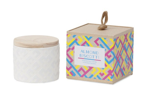Me And My Trend - Almond Biscotti - Ceramic Candle