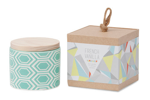 Me And My Trend - French Vanilla Mint - Ceramic Candle