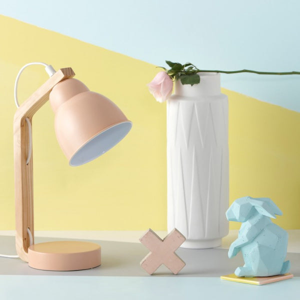 Me And My Trend - Curved (Peach) - Side Lamp - modern home decor