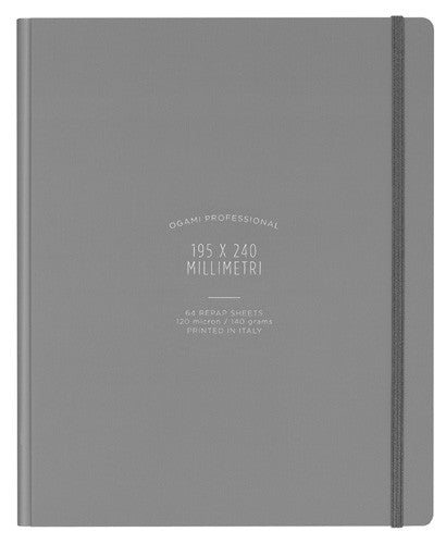 Ogami - Hard Cover (Grey Regular) - Notebook