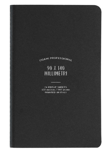 Ogami - Soft cover (Black) - Mini Notebook