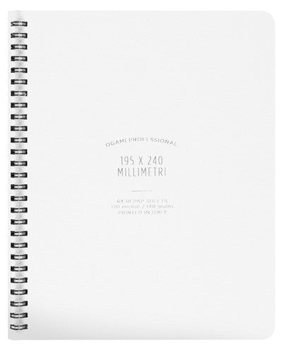 Ogami - Soft Cover (White Regular) - Notebook
