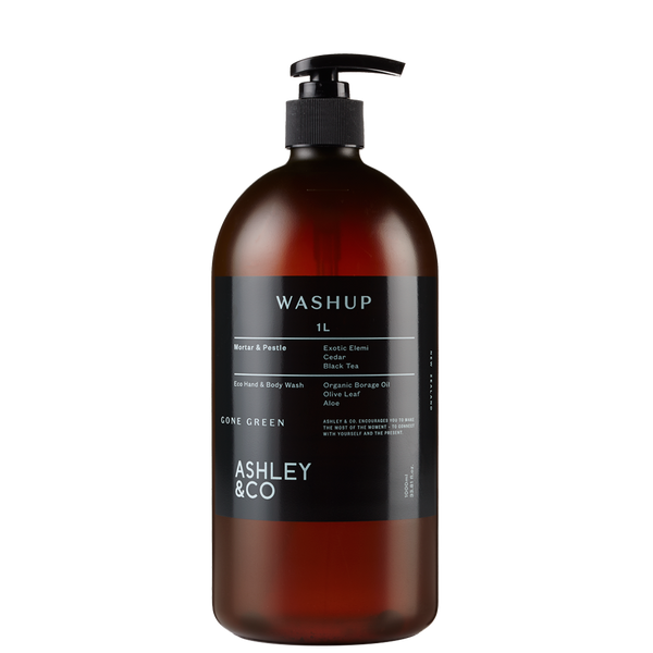 Ashley & Co - WashUp - Gone Green 1000ml