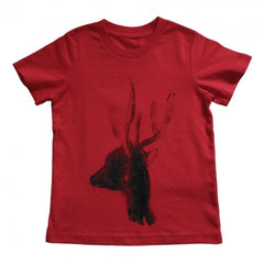 Painted Street - Deer Head (Various Colours) - Kids T-Shirt