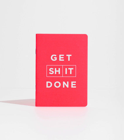 Mi Goals -  Get Shit Done - Notebook