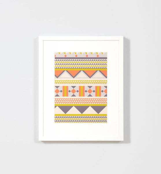 Middle Of Nowhere - Fiesta 2 - Framed Print