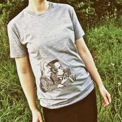 Painted Street - Grey Marlen (Womens) - T-Shirt