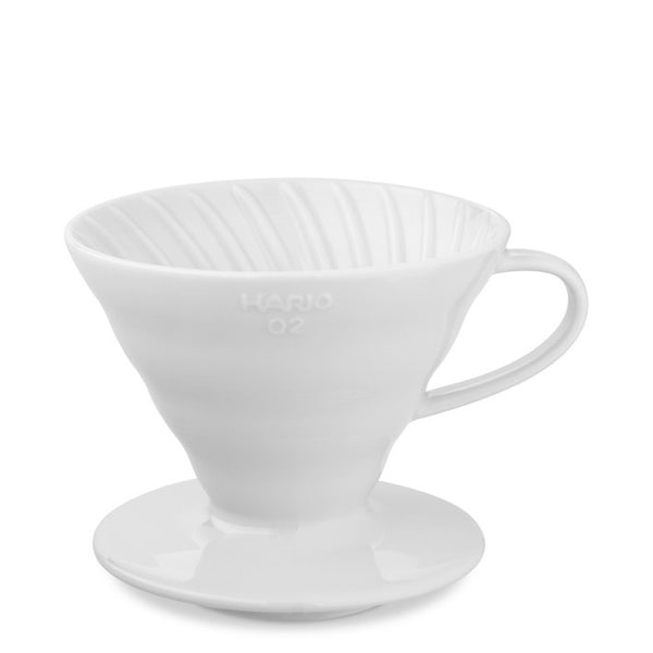 Hario - V60 Dripper White 2 cup - Coffee Brewer