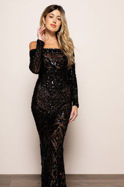 Arabella Gown Black