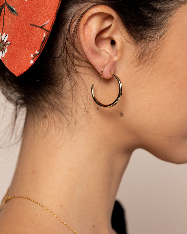 Golden Hour Hoop Earrings