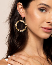 Daisy Dangle Earring