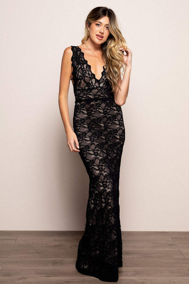 Perfect Plunge Maxi Black For Sale