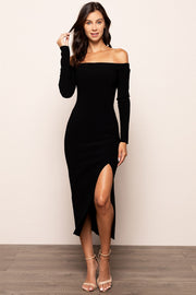 Elke Off The Shoulder Midi