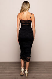 Poison Ruched Dress