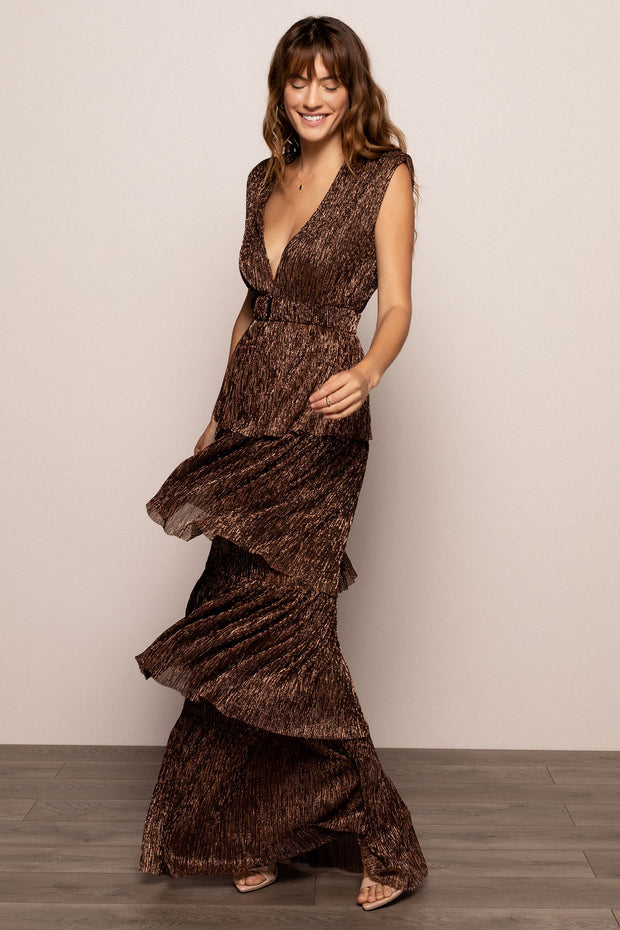 Skylar Dress Bronze
