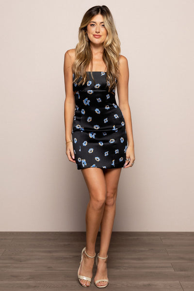 Daisy Cut Out Mini Dress