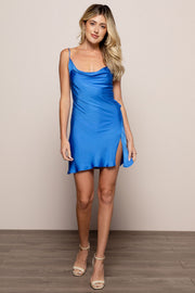 Hadid Dress Cobalt