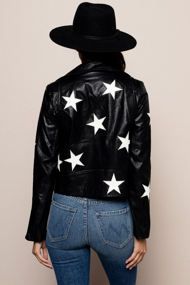 Star Leather Jacket For Sale
