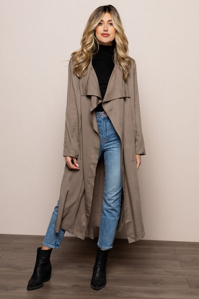 Drape Front Trench