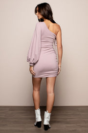 Dusty One Shoulder Dress