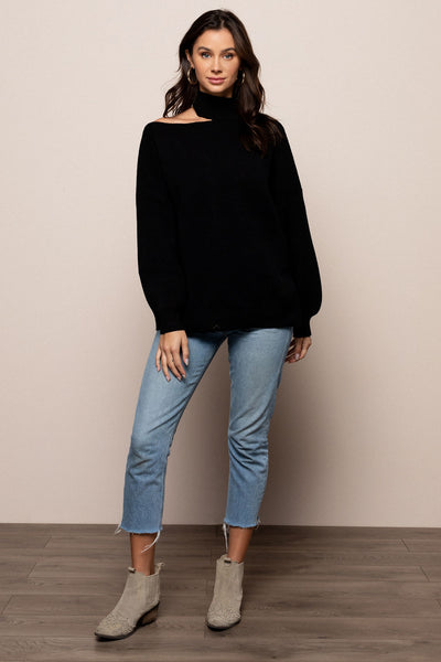 Reese Cold Shoulder Sweater