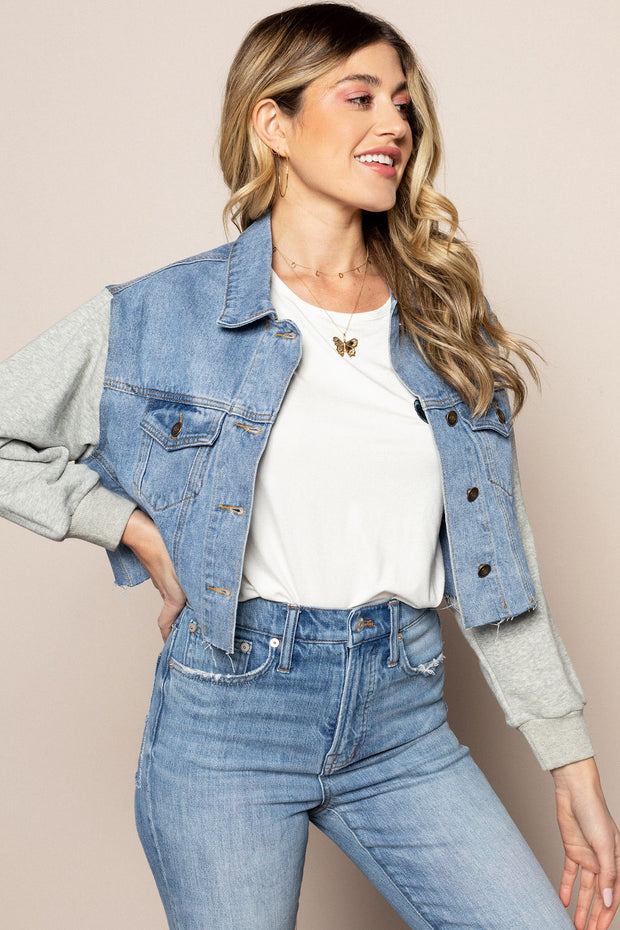 Summer Nights Denim Jacket