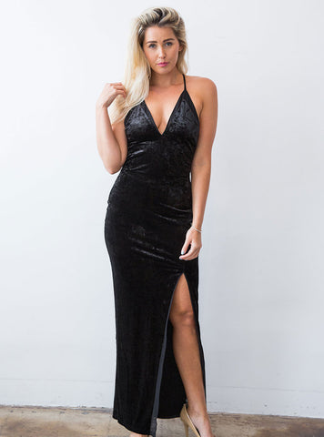 Farrah Gown in Black