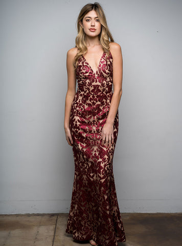 Karen Gown Red