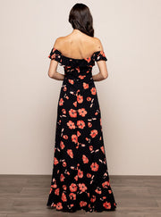 Monica Maxi Dress Black